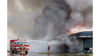 On The Job Oregon: Two-Alarm Fire Destroys Roseburg Furniture Store
