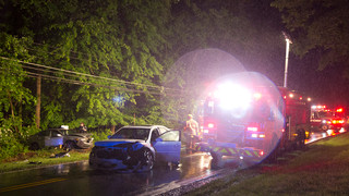Photo Story: Maryland Wreck Injures Four