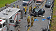 Photo Story: Six-car Crash in N.C. Results in Entrapment