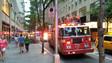 Six Hurt in Fire on Observation Deck at Rockefeller Plaza