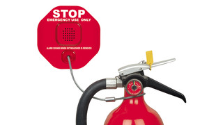 Fire Extinguisher Theft Stopper®
