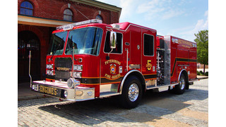 Apparatus Showcase: Petersburg, Va. Gets Custom Pumper
