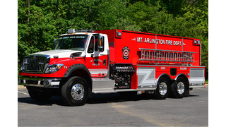 Apparatus Showcase: Arlington, N.J. Puts Tanker in Service