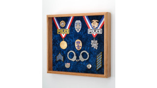 Awards & Medals Display Case