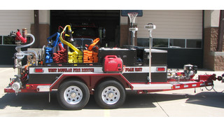 Apparatus Showcase: Foam Trailer Delivered in Colorado