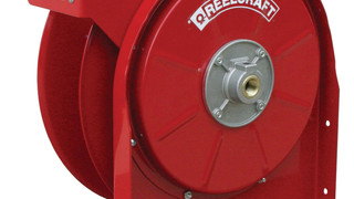 Reelcraft Offers Non-Corrosive Fluid Reel
