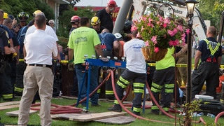 Photo Story: Trench Collapse Requires Ill. Rescuers