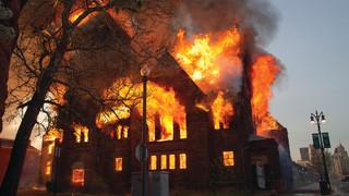 Cover Story: Fire Destroys Landmark Detroit Church