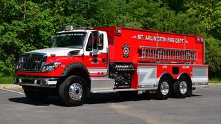 Apparatus Showcase: Arlington, N.J. Puts Tanker in Service