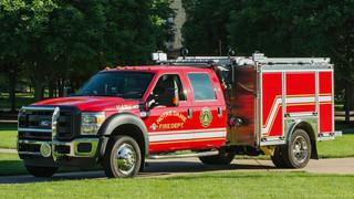 Apparatus Showcase: Pumper Put in Service By Notre Dame