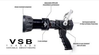 VSB Tornado Smoothbore Nozzle
