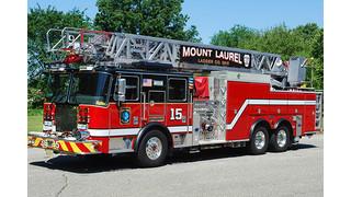 Apparatus Showcase: Mt. Laurel N.J. Puts Aerial in Service