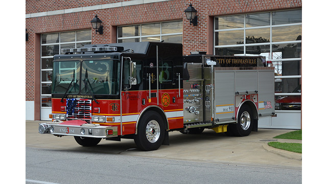 Apparatus Showcase: Thomasville, Ga., Gets Pumper