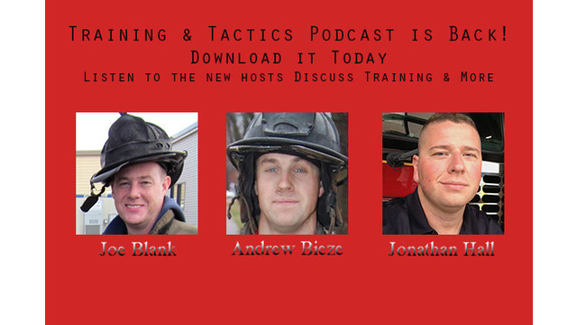 Training & Tactics Talk: Ladders on the Fireground, in Training