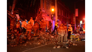 Photo Story: Detroit Crews Rescue Driver After Collapse