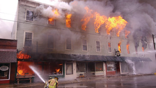 On The Job Ohio: 37 Departments Respond As 4-Alarm Fire Destroys Garrettsville Businesses