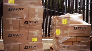 Scott Safety, National Firefighters Endowment Donate 134 Air-Pak SCBAs