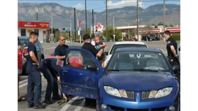 Boy Rescued From Hot Car by New Mexico Firefighters
