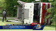 Fire Engine Flips, Injuring Ohio Firefighter