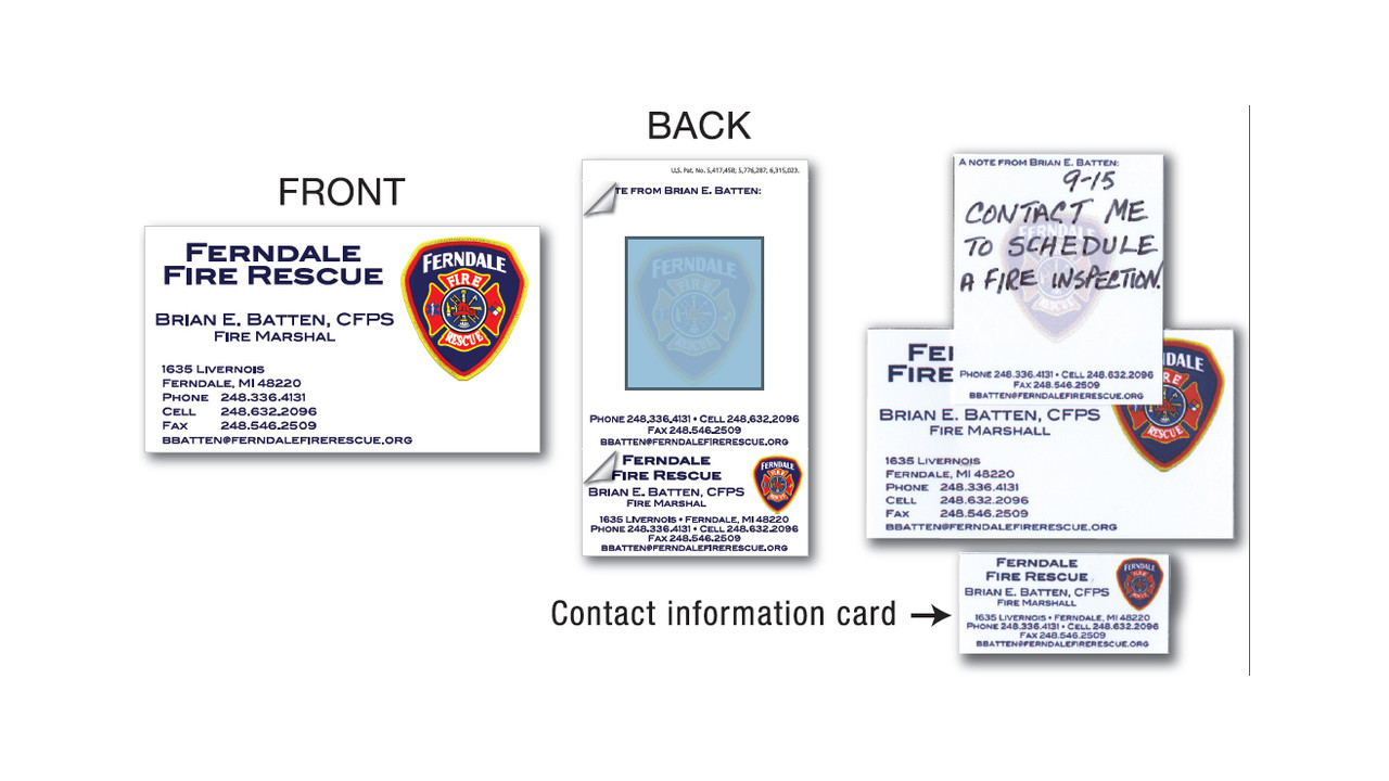 Business cards labels firehouse office needs saxon inc introduces peel off business cards magicingreecefo Gallery