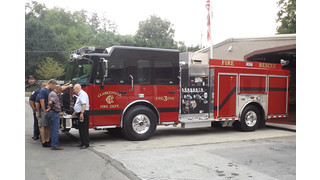 Clarkesville, Ga., Gets New Rescue Pumper