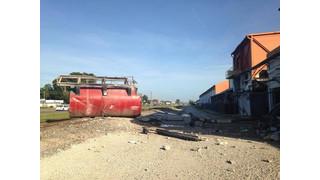 Photo Story: Blast Sends Tank Through Wall of Fla. Plant