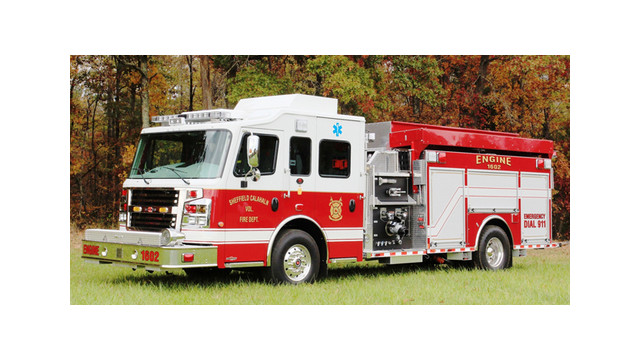 Sheffield FD in N.C. Gets New Custom Pumper