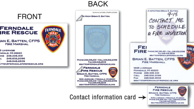 Saxon Inc., Introduces 'Peel Off' Business Cards
