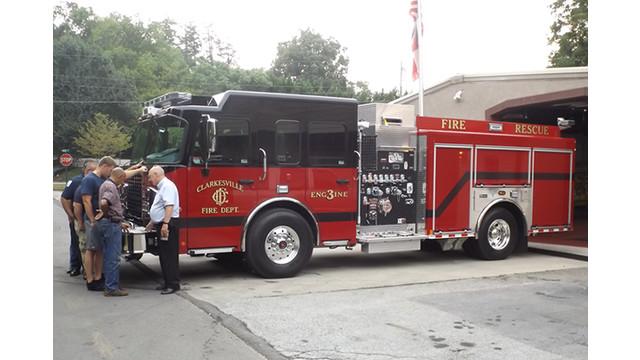 Clarkesville, Ga., Gets New Rescue Pumper