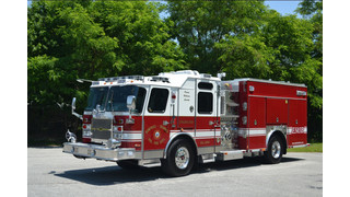Volunteers in Dumfries-Triangle, Va., Get New Pumper