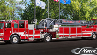 Oregon Firefighters Christen New Tiller on Sept. 11