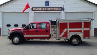 Denmark, Maine Receives New Mini Pumper